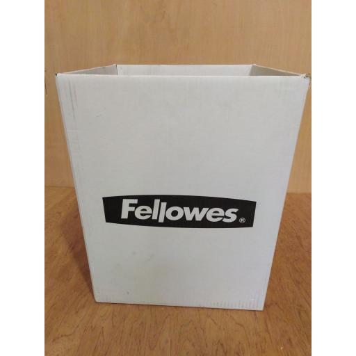 Fellowes Waste Bin, Width 38cm x 34.5cm, depth 48cm